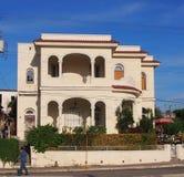 Haus mit spanischer Architektur in Havana Cuba Stockfotos