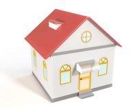 Haus-Modell Lizenzfreie Stockfotografie