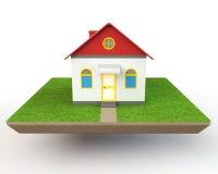 Haus-Modell Stockfotografie