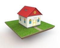 Haus-Modell Stockbild