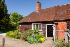 Haus-Museum von Jane Austen in Chawton Hampshire Südost-Engl. lizenzfreie stockfotografie