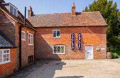 Haus-Museum von Jane Austen in Chawton Hampshire Südost-Engl. lizenzfreies stockfoto