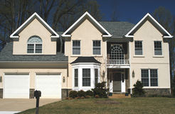 Haus, neues Haus Lizenzfreies Stockfoto