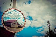 Haus og Spiegel Stockbilder