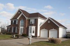 Haus in Ohio stockbilder