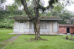 Haus in Paranapiacaba, Brasilien Stockfotografie