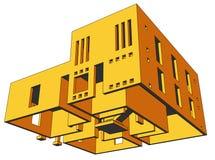 Haus-Perspektive 3 Lizenzfreies Stockfoto