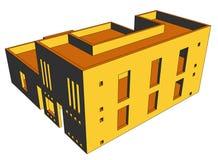 Haus-Perspektive 9 Lizenzfreies Stockfoto