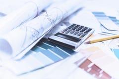 Haus-Pläne Lizenzfreie Stockbilder