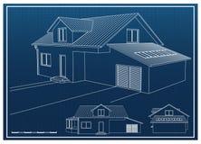 Haus-Plan Lizenzfreie Stockfotos