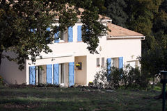 Haus in Provence Stockbild