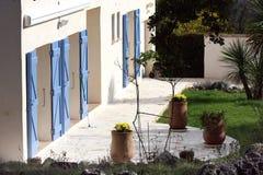 Haus in Provence Lizenzfreie Stockbilder