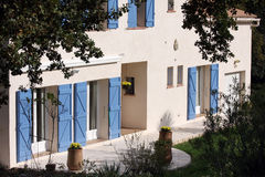 Haus in Provence Stockbilder