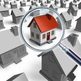 Haus-Recherche Lizenzfreie Stockbilder