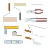 Haus repariert Werkzeuge Lizenzfreies Stockfoto