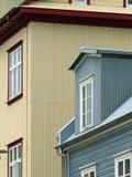 Haus in Reykjavik, Island Stockbilder