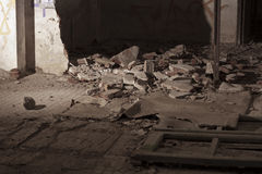 Haus ruiniert Stockbild