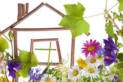 Haus, süßes Haus? Stockbild