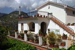 Haus in Süditalien Stockfotos