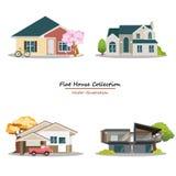 Haus-Sammlung Stockfotografie