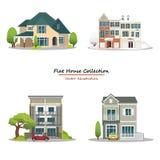 Haus-Sammlung Stockfoto