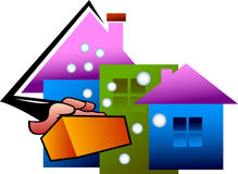 Haus sauber vektor abbildung