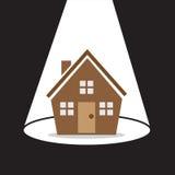 Haus-Scheinwerfer Stockbilder
