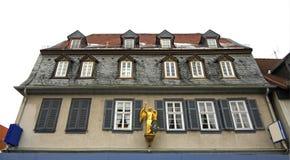 Haus in schlechtem Vilbel deutschland lizenzfreies stockbild