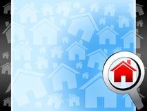 Haus searchig Hintergrund Lizenzfreie Stockfotos