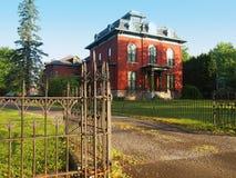 Haus in Seneca Falls, New York Stockfotos