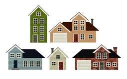 Haus-Set Lizenzfreies Stockbild