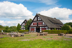 Haus in summer day Stock Images