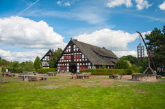Haus in summer day Royalty Free Stock Photos