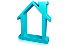 Haus-Symbol Lizenzfreie Stockfotografie