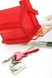 Haus-Tasten Lizenzfreies Stockfoto