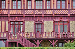Haus in Trouville-sur Mer in Normandie Stockbilder