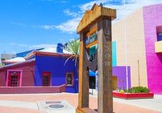 Haus Tucsons Adobe Lizenzfreie Stockfotos