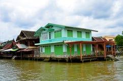Haus, Ufergegend, bunt Lizenzfreie Stockfotos
