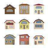 Haus und Baukasten Stockfotos