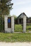Haus und Briefkasten Lizenzfreies Stockbild