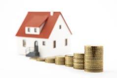 Haus und Geld Lizenzfreie Stockbilder