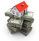 Haus und Geld Lizenzfreie Stockfotografie
