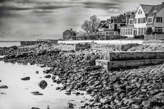 Haus und Landschaft Connecticut Lizenzfreie Stockbilder