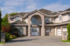 Haus in Vancouver Stockfotografie