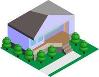 Haus-Vektor Lizenzfreie Stockfotografie