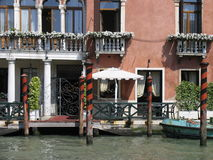 Haus in Venedig Italien lizenzfreie stockfotos