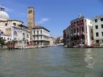 Haus in Venedig Italien stockbild