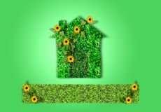 Haus verde Immagine Stock