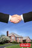 Haus verkauft Lizenzfreie Stockfotos