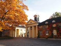 Haus Villigst w Westphalia, Niemcy obraz stock